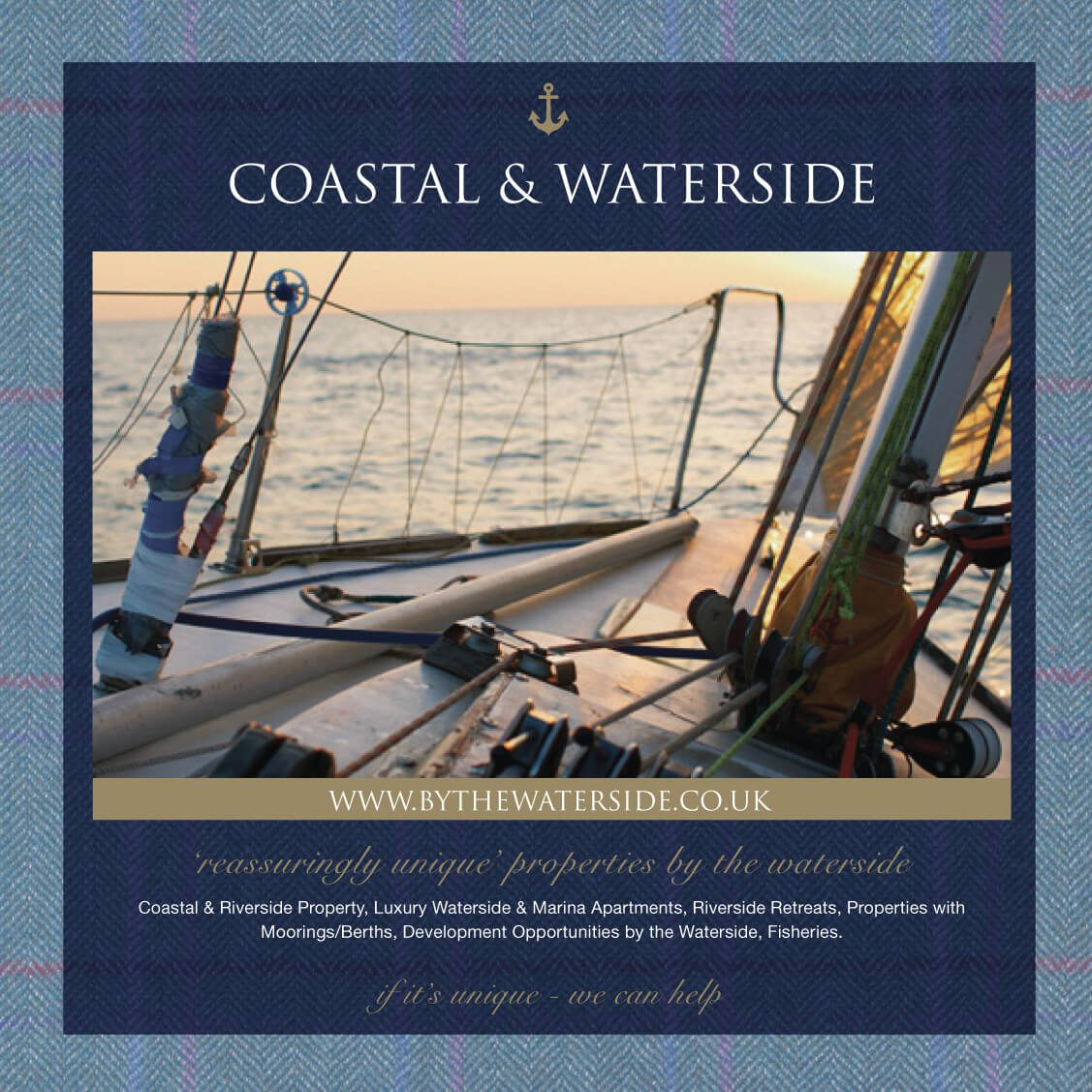 Zoe Napier Coastal & Waterside brochure page