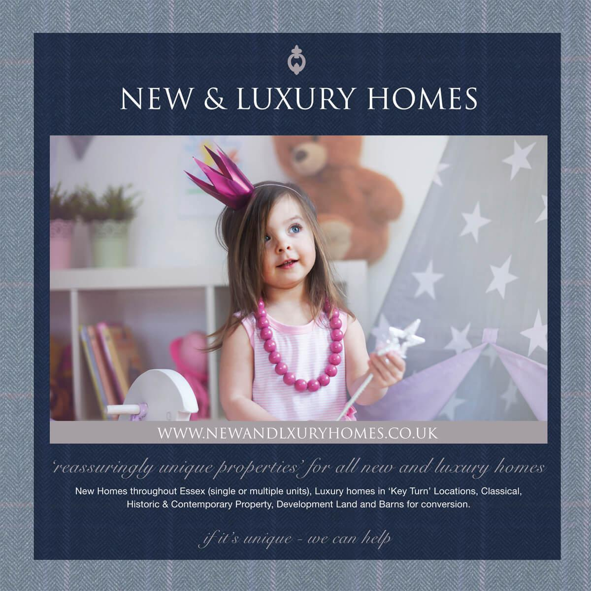 Zoe Napier New & Luxury Homes brochure page